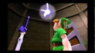 Ocarina of Time 3DS - Ganon's Castle Finale and Credit Roll (The Legend of Zelda)