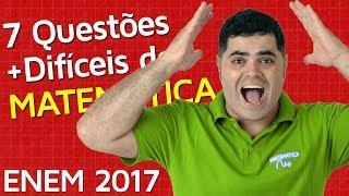 download musica 🚨 ENEM 2017 🔴 7 Questões de Matemática MAIS DIFÍCEIS do ENEM 2017 👉 Matemática Rio