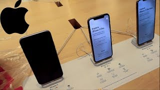 iPhone 11 Pro Max Shopping at the Apple Store