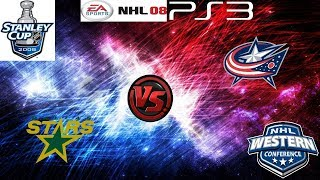 NHL Stanley Cup Playoffs - Conference Quarterfinals - Columbus Blue Jackets @ Dallas Stars