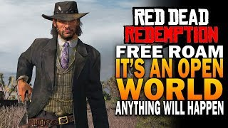 A Game That Is In Many Ways Better Than RDR2 - Red Dead Redemption 4k Gameplay Free Roam