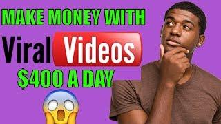 2018 How to Make money Online Posting Viral Videos  | make money online fast 2018 | make money free