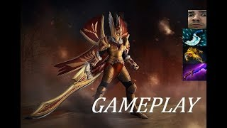 WARNING: TOXIC GAME | Legion Commander Ranked Gameplay Commentary Dota 2