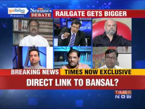 The Newshour Debate: Is it time for Pawan Kumar Bansal to resign? (The Full Debate)