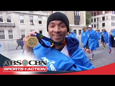 The Score: Kim Atienza joined 2015 NYC marathon