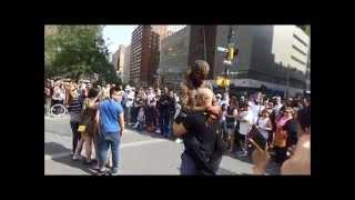 Crazy Street Performers at Union Square