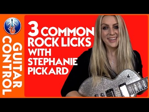 3 Common Rock Licks With Stephanie Pickard