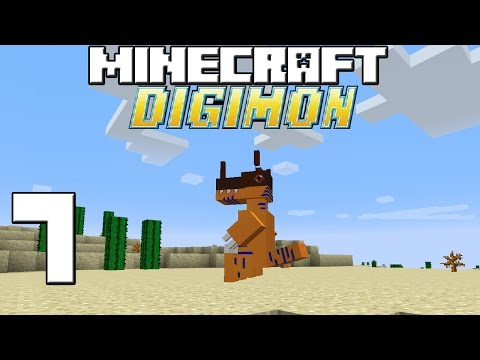 Minecraft Serie Digimon! Capitulo 7! video