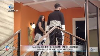 Puterea dragostei - Tachinarile dintre Bogdan, Jador si Simina l-au facut pe Alex sa ia atitudine!