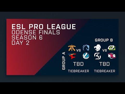 CS:GO - Groups Day 2 - ESL Pro League Season 6 Finals - Secondary Stream