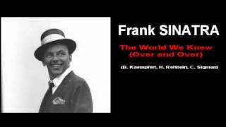 Watch Frank Sinatra The World We Knew over And Over video