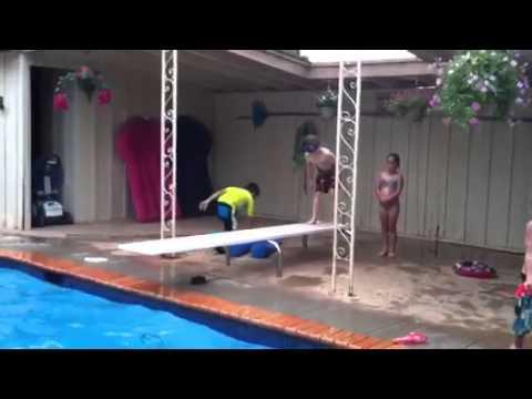 Shane diving. 2