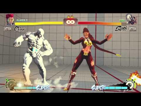 Ultra Street Fighter 4 CViper Combo