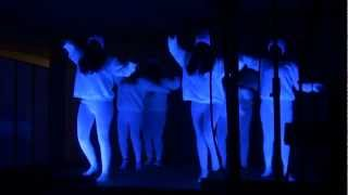 Glow-in-the-Dark Christian Hip-Hop Dance Routine [Flame - Move] @ Zion Family Worship Center Church