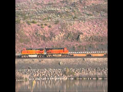 BNSF Baretable at Crow Butte May 2013