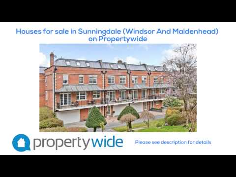 Houses for sale in Sunningdale (Windsor And Maidenhead) on Propertywide
