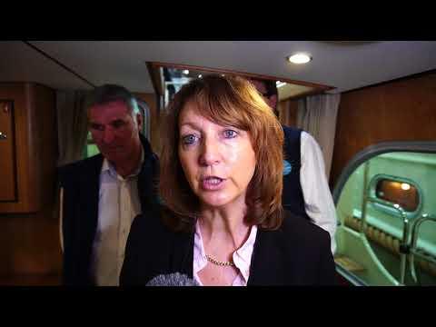 20180125 Bootsmesse 2018 Düsseldorf Linssen Yachts Grand Sturdy 35.0 AC Lisa Kreusch Sven Herzog