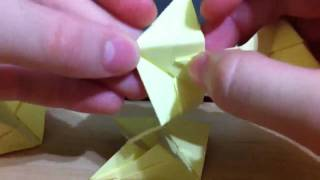 How To Make An Origami Spiky Ball