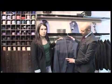 Chaquetas y tipos de trajes para el caballero.