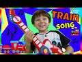 Rock N Roll Train Asher's Day |Train Song For Preschoolers & Babies| Virtual Train Ride