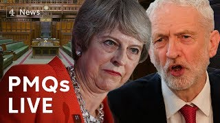 PMQs: May faces Corbyn after her crushing defeat in Brexit vote|#BREXIT