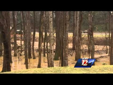 Raw Video: Silas Creek flooding in W-S