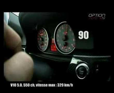 270 km/h en Hartge H50 Coup (Option Auto)