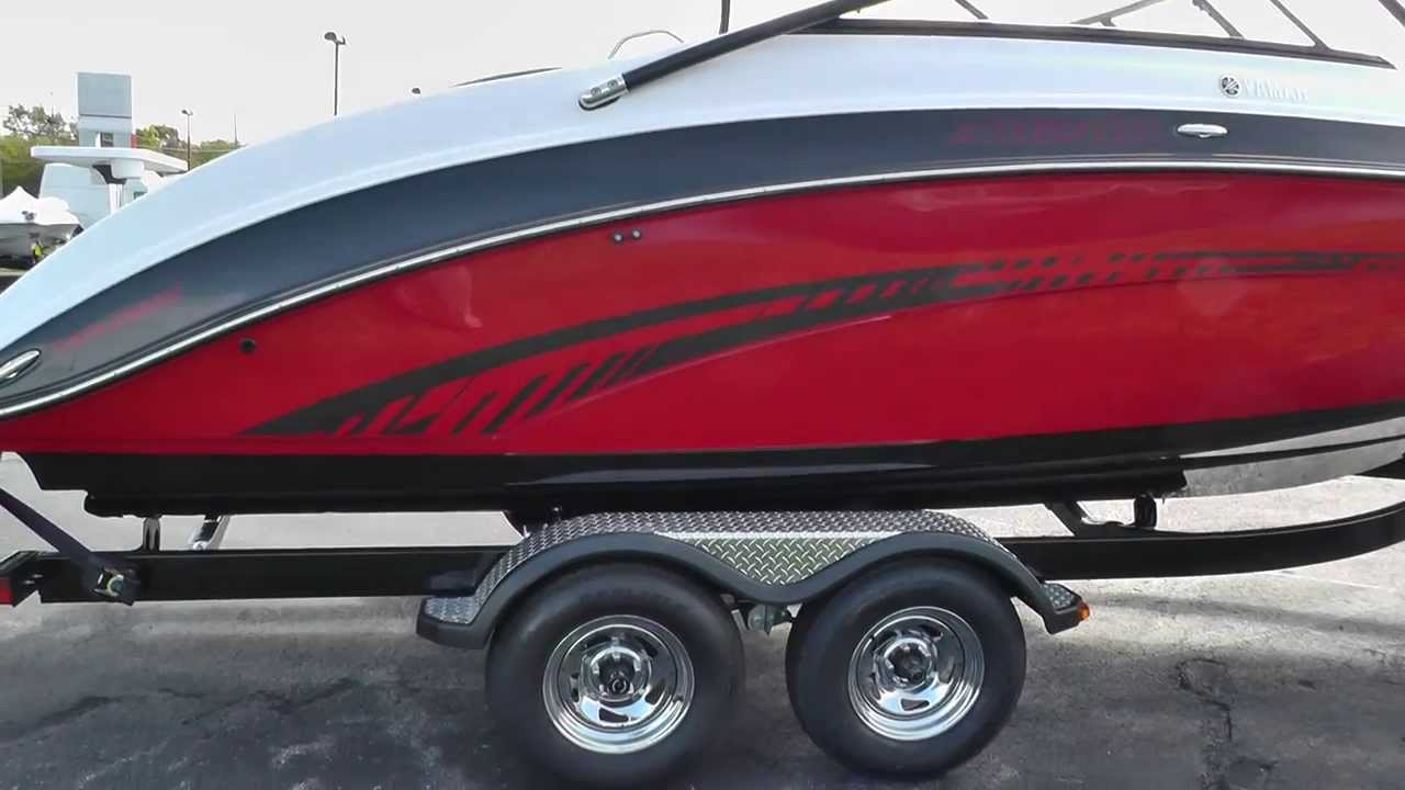 Yamaha Jet Ski For Sale >> 2014 Yamaha AR240 Jet Boat For Sale Lodder's Marine - YouTube