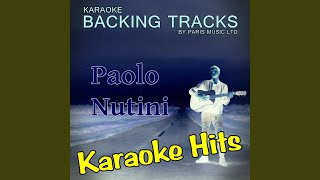 Coming Up Easy (Originally Performed By Paolo Nutini) (Karaoke Version)