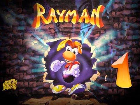 Rayman 1995-серия 1 [Знакомство, спасаем первых электунов.]