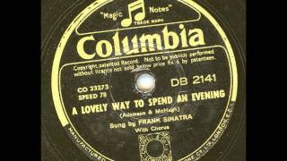 Watch Frank Sinatra A Lovely Way To Spend An Evening video