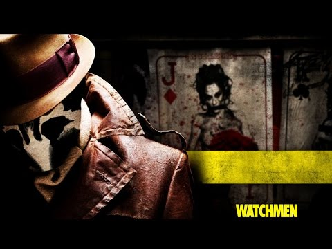 История героя. Роршах / Watchmen Rorschach Origins [by Кисимяка]