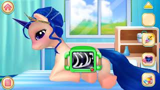 Fun Pony Pet Care Pony Princess Academy/  Care for her with real-life doctor tools!