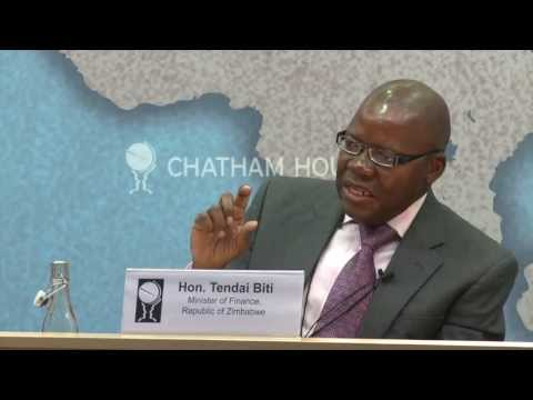Tendai Biti on Prospects for Regional Cooperation and Investment Opportunities in Zimbabwe on YouTube