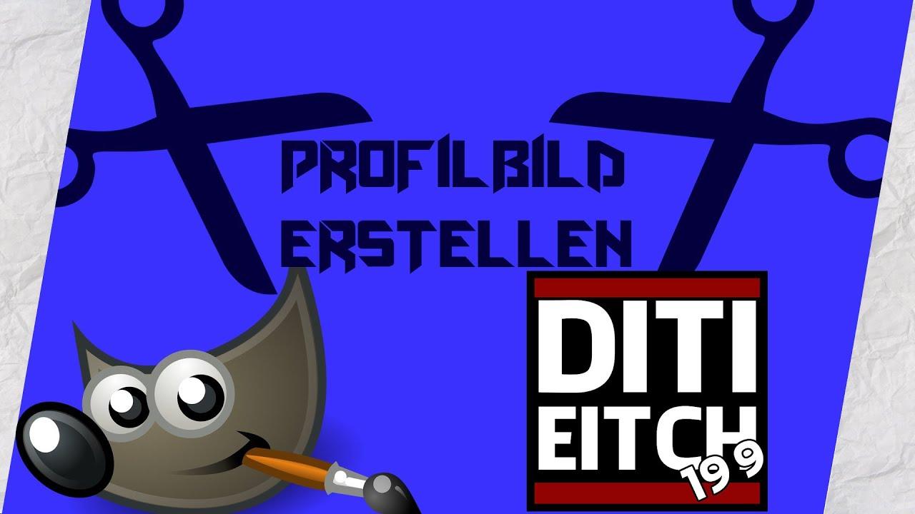 Gimp Tutorial: YouTube-Logo/Profilbild erstellen! [HD