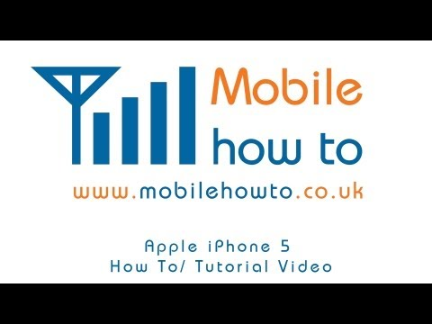 How To Voice Dictate Text/SMS Message - Apple iPhone 5