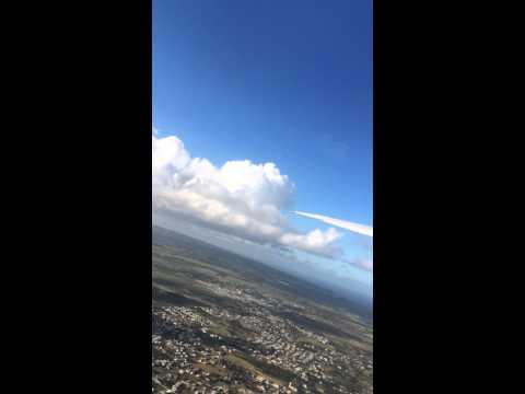 Air Canada 777 takeoff  BGI to YYZ