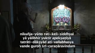 2011.10.08. Mangala Arati, Samsara...  HG Sankarshan Das Adhikari - Riga, Latvia