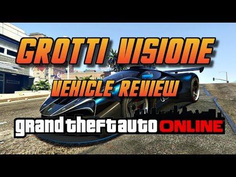 GTA Online[GTA5] Grotti Visione -Ferrari Xezri Concept -  New Supercar vehicle review