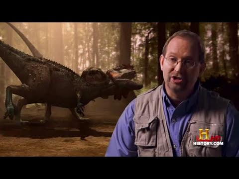 (4) Lucha en el Jurasico - (1/12) El Dinosaurio Caníbal