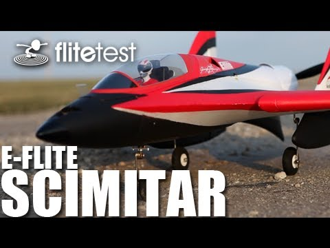 Flite Test - E-Flite Scimitar - REVIEW