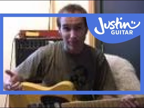 Blues Lead Guitar: Basics #1of20 (Guitar Lesson BL-011) How to play
