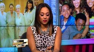 "TIA MOWRY-HARDRICT STOPS BY TO DISCUSS ""INSTANT MOM"""
