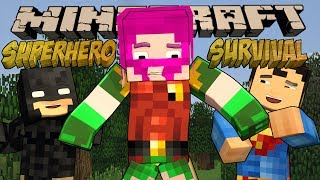 Minecraft - Modded SUPERHERO SURVIVAL GAMES! Ft. Dar and Ross