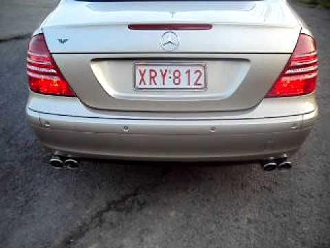 Mercedes E220 Cdi W211 Amg Exhaust Sound Albanian