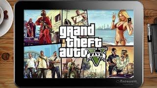 Играем GTA 4 и 5 (НЕУДАЧНО) на планшете Voyo A1 mini, tablet pc gameplay test