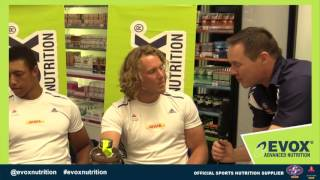 DHL WP Rugby with Evox at Dischem we catch up with the Amazing Werner Kok