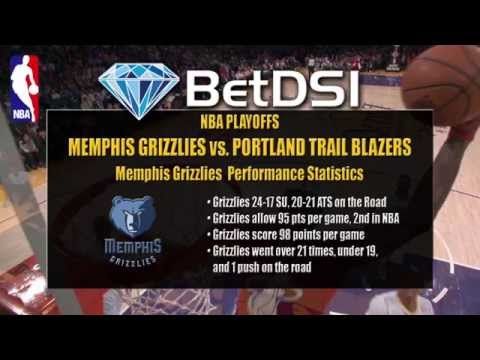 Memphis Grizzlies vs Portland Trailblazers Odds | NBA Playoffs Free Picks
