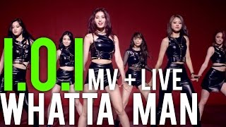 I O I WHATTA MAN GOOD MAN MV LIVE STAGE REACTIONS