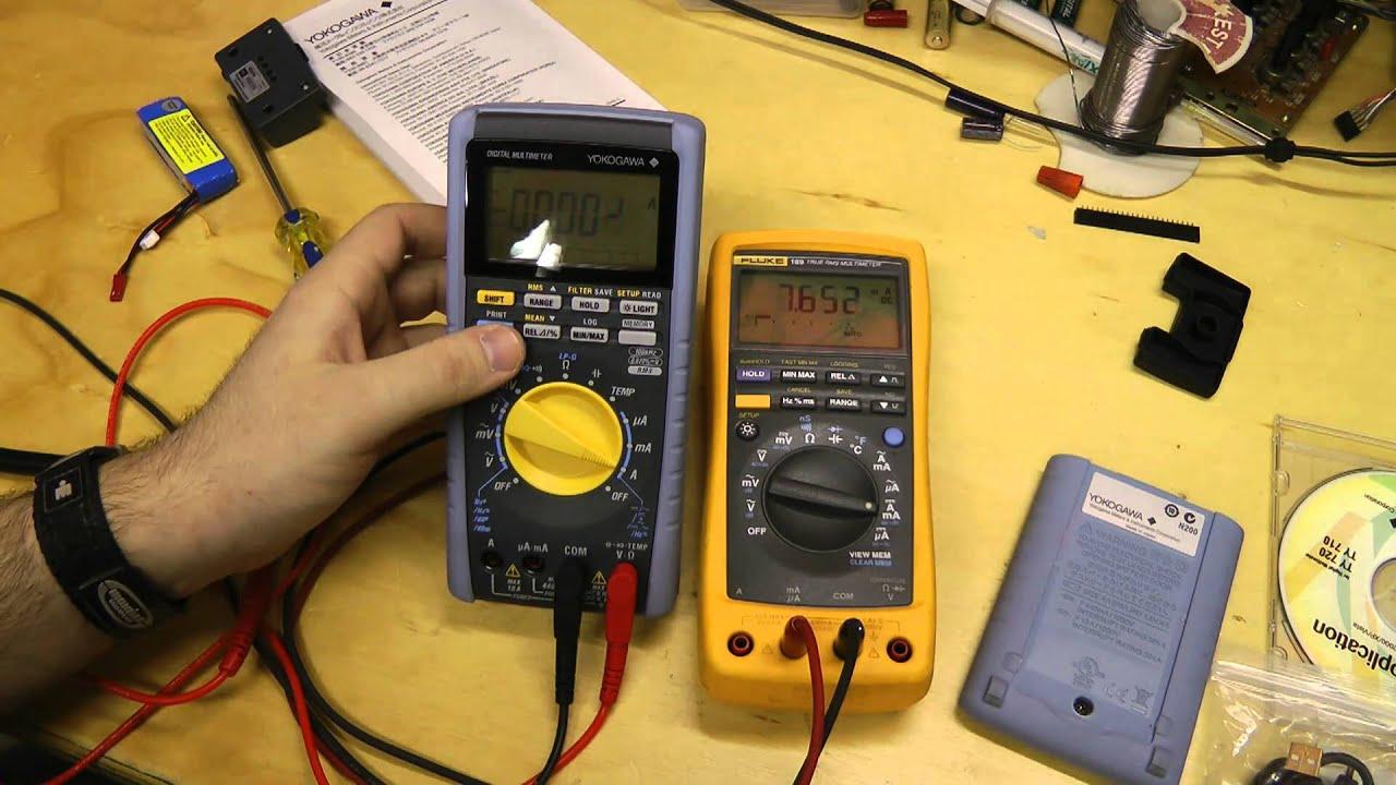 Yokogawa TY720 Multimeter Review - YouTube